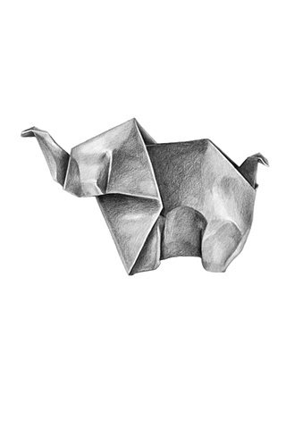 Examples Of Origami Drawings